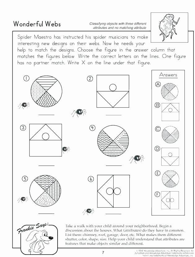 Kindergarten Math sorting Worksheets sorting Worksheets Categorizing for Grade Printable