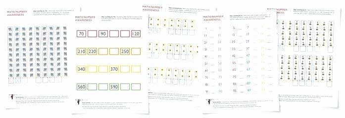 Kindergarten Number Line Worksheets Skip Counting Worksheets Kindergarten 1 30 to