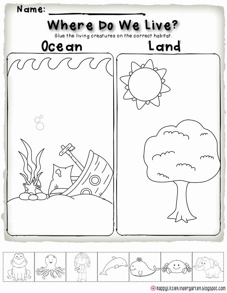 Kindergarten Ocean Worksheets Ocean Motion Always Learning