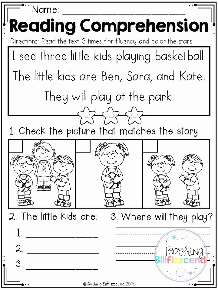 Kindergarten Reading Comprehension Worksheets Pdf original Pre Reading Skills Worksheets Pre Intermediate