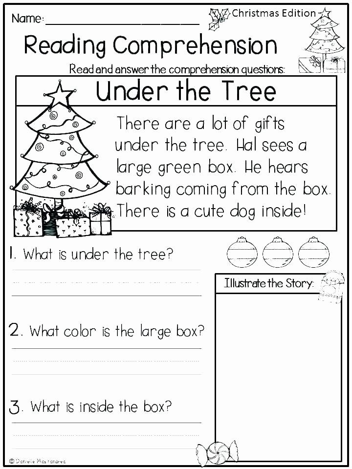 Kindergarten Reading Comprehension Worksheets Pdf Very Easy Reading Prehension Worksheets