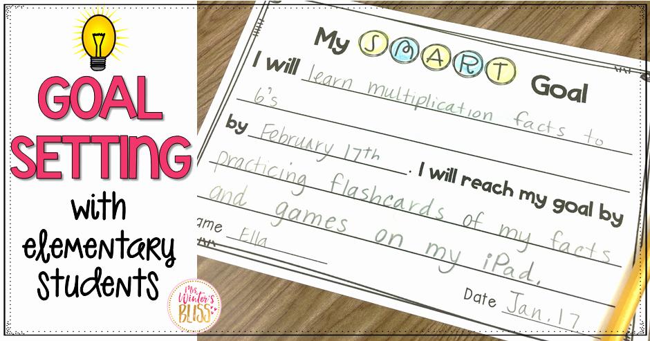 Kindergarten Sentence Starters Fresh Goal Setting with Elementary Students Mrs Winter S Bliss