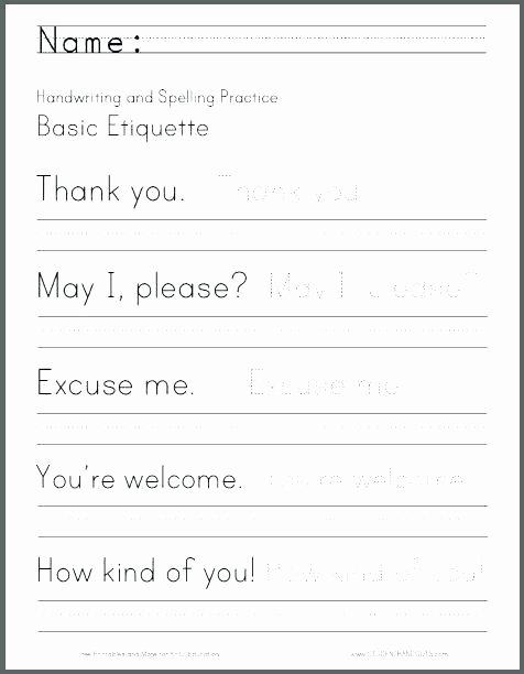 Kindergarten Sentence Writing Practice Worksheets Sentence Handwriting Worksheets