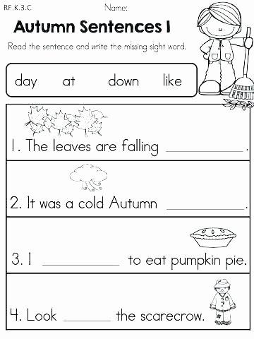 Kindergarten Sentence Writing Practice Worksheets Writing Sentences Practice Worksheets – Homeofficelove