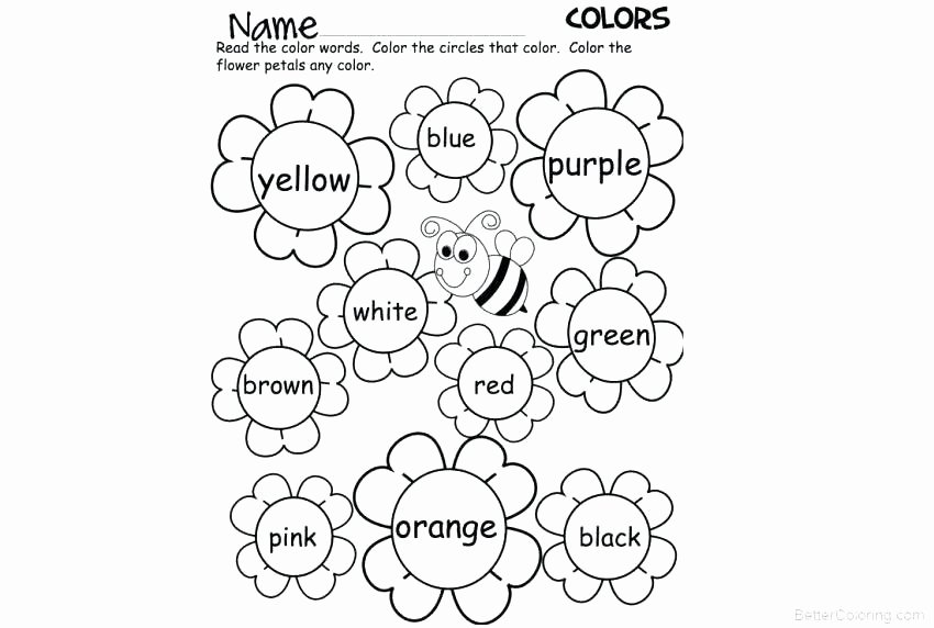 Kindergarten Sight Word Coloring Worksheets Coloring Pages with Words – Paolosaporiti