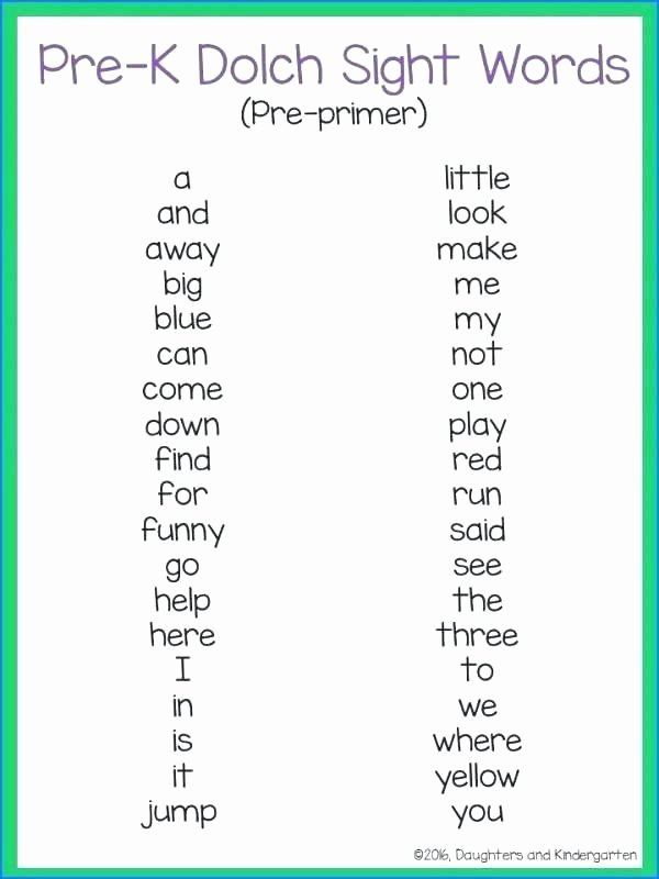 Kindergarten Sight Word Coloring Worksheets Kindergarten Sight Words Worksheets Pdf Printable Free