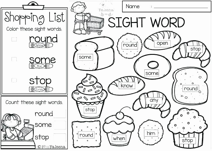 Kindergarten Sight Word Coloring Worksheets Kindergarten Sight Words Worksheets Word Tracing Dolch
