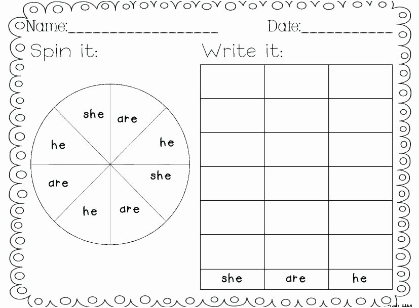 Kindergarten Sight Word Coloring Worksheets Sight Word Coloring Page – Bigtimeoffers