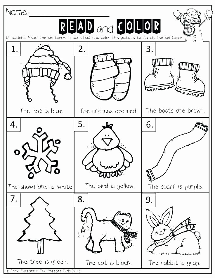 Kindergarten Sight Word Coloring Worksheets Sight Word Coloring Page – Ecancerargentina