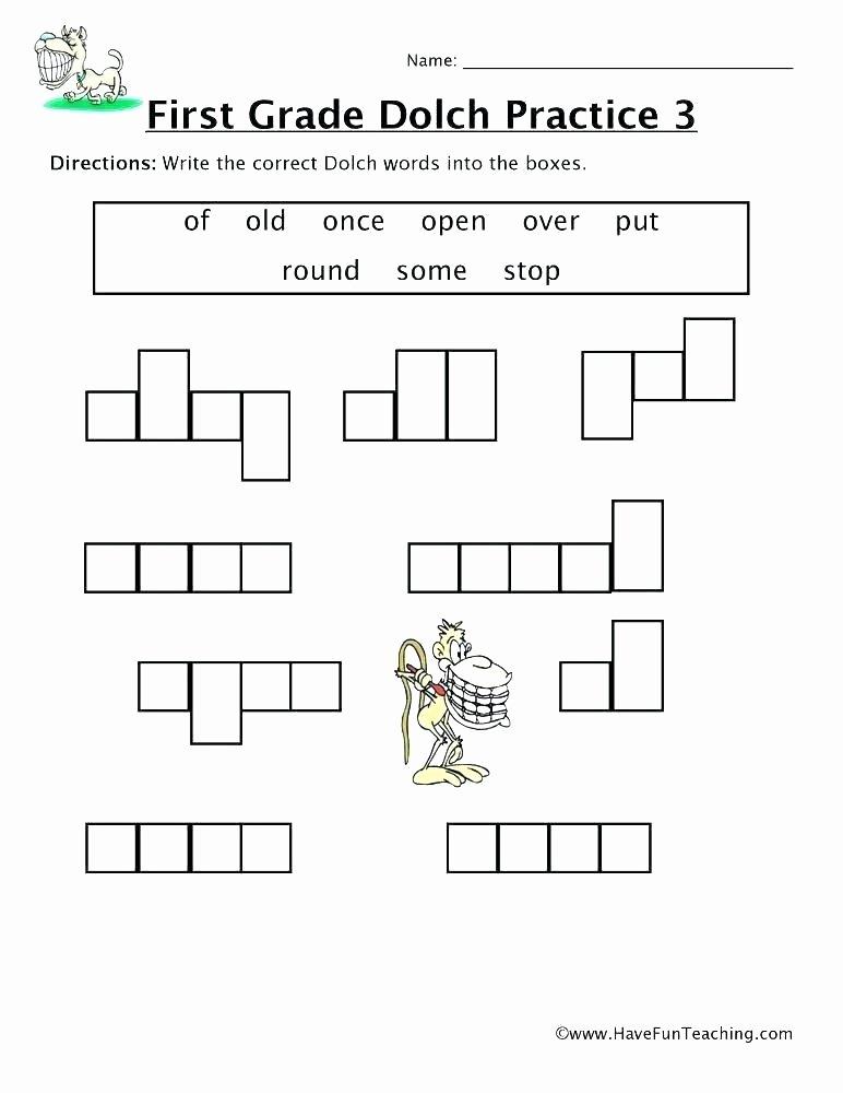 Kindergarten Sight Words Worksheets Pdf Unique Kindergarten Sight Words Printable Worksheets Grade 3 for