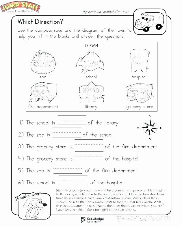 Kindergarten social Studies Worksheets Pass Worksheets for Kids