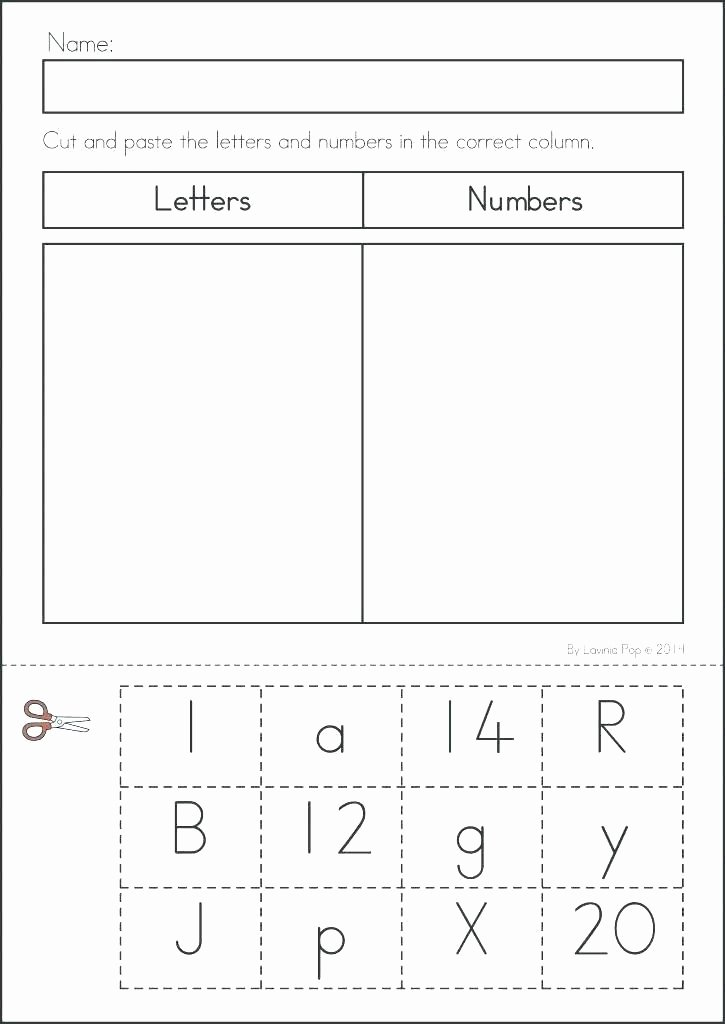 Kindergarten sorting Worksheets Shapes and Numbers Worksheets