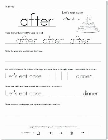 Kindergarten Spelling Words Printable Elegant Kindergarten Spelling Words Worksheets