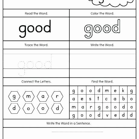 Kindergarten Spelling Words Printable Luxury Spelling Cvc Words Worksheets