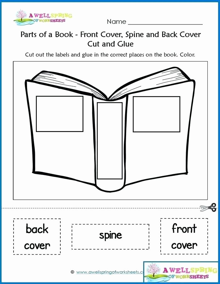 Kindergarten Worksheets Cut and Paste Cut and Glue Worksheets