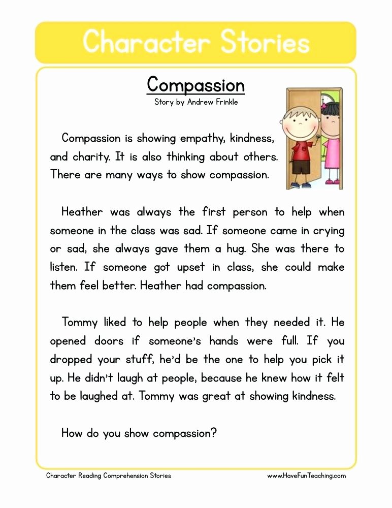 Kindness Worksheets for Elementary Students New Empathy Activities for Kids Fun Ways to Teach About Kindness