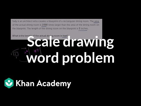 Kitchen Math Measuring Answers solving A Scale Drawing Word Problem Video
