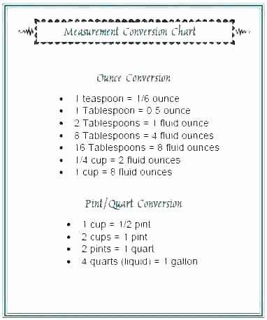 Kitchen Math Measuring Worksheet Measurements for Cooking Math Skills Measurement Basic 9
