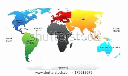 Label Continents and Oceans Printable Maps Of Continents – Zetavape