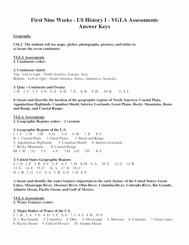 Label the Continents Worksheets 5 Regions Of the Us Worksheets