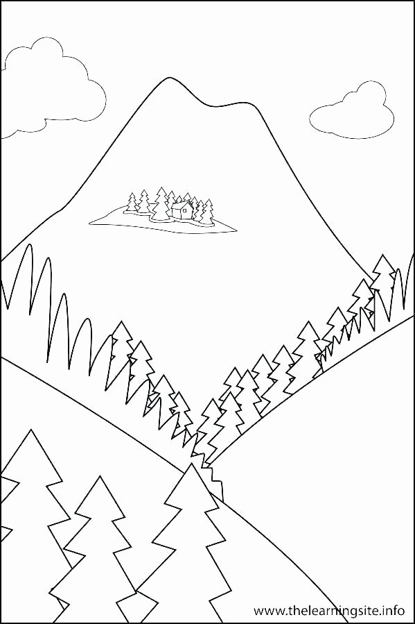 Landforms Worksheet for Kindergarten Printable Landform Coloring Pages – Redleatherbookingfo