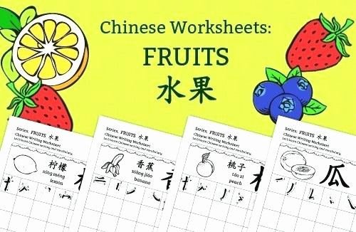Learning Chinese Worksheets Chinese Worksheets