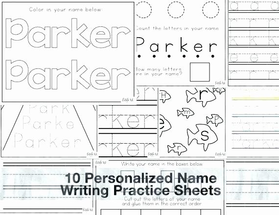 Letter and Number Tracing Worksheets Number Handwriting Worksheets
