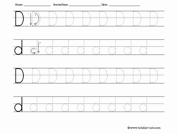 Letter D Worksheet Preschool Letter D Worksheets