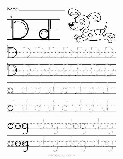 Letter D Worksheet Preschool Lowercase Alphabet Tracing Worksheets – butterbeebetty
