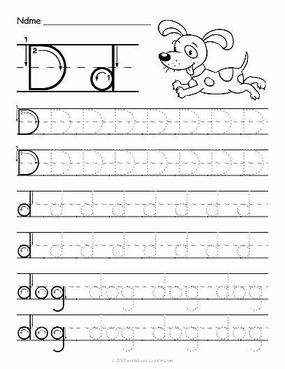 Letter D Worksheet Preschool Lowercase Alphabet Tracing Worksheets – butterbeebetty