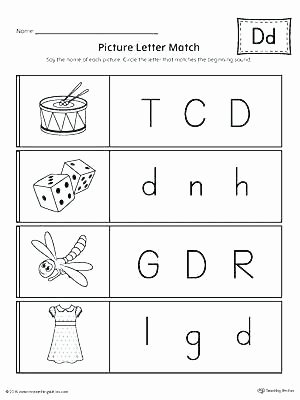 Letter D Worksheet Preschool Not Free Letter D Worksheets Free Custom Letter Tracing