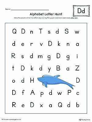 Letter F Worksheets for toddlers Beautiful Do A Dot Letter D Printable Alphabet Worksheets for