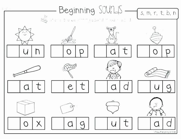 Letter F Worksheets for toddlers Elegant Worksheets Write Phonic for Grade Final Consonant Jolly