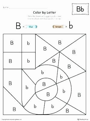 Letter F Worksheets for toddlers Fresh Letter B Worksheets for toddlers