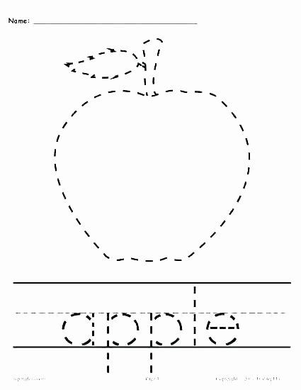 Letter G Tracing Worksheet Free Name Tracing Worksheets for Preschool