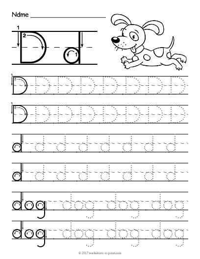 Letter G Tracing Worksheet Free Printable Tracing Letter D Worksheet K Tracing Free