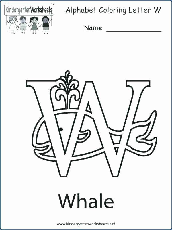 Letter G Tracing Worksheet Letter O Worksheets for Kindergarten Letter W Worksheets for