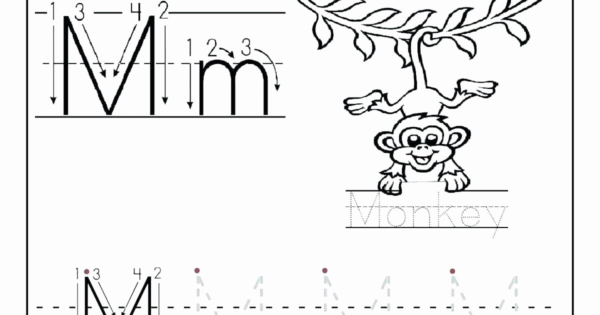 Letter G Tracing Worksheets Preschool Letter Letter M Worksheet Letter M Alphabet Worksheets