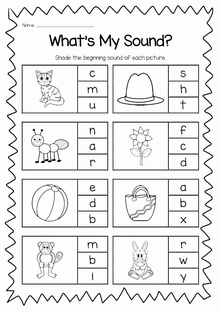 Letter G Worksheet Preschool Alphabet Worksheets for Pre K