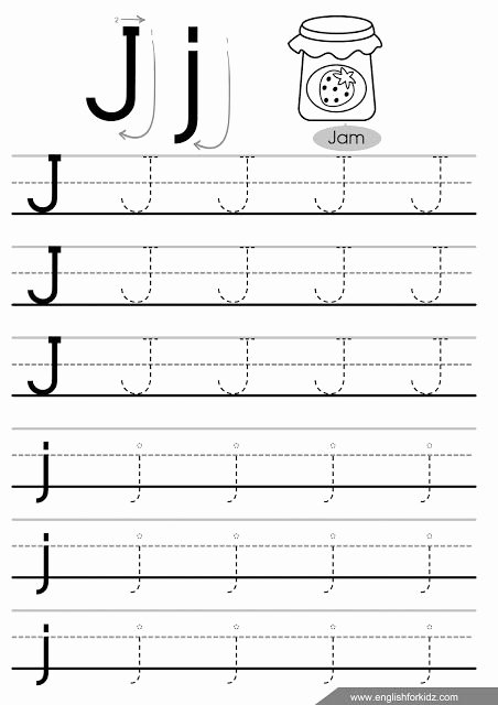 Letter G Worksheet Preschool Letter J Tracing Worksheet social Skills Ideas