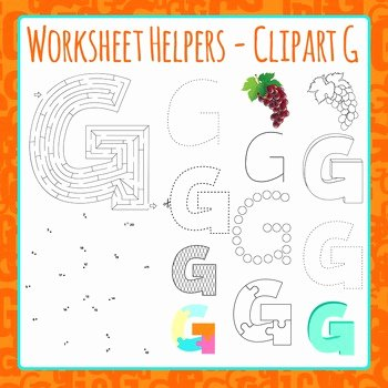 Letter G Worksheets for Kindergarten Letter G Worksheets