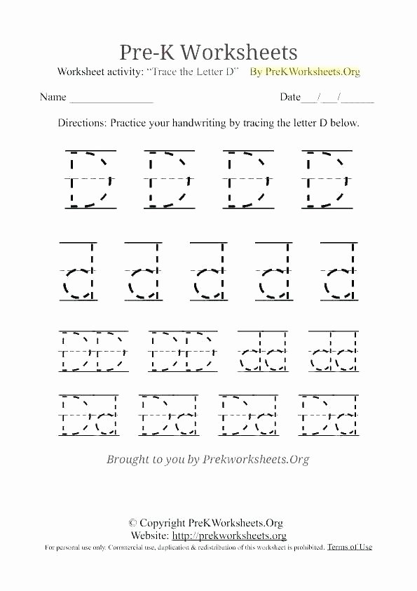 Letter G Worksheets for Kindergarten Letter Tracing Worksheets Kindergarten Alphabet for Kids