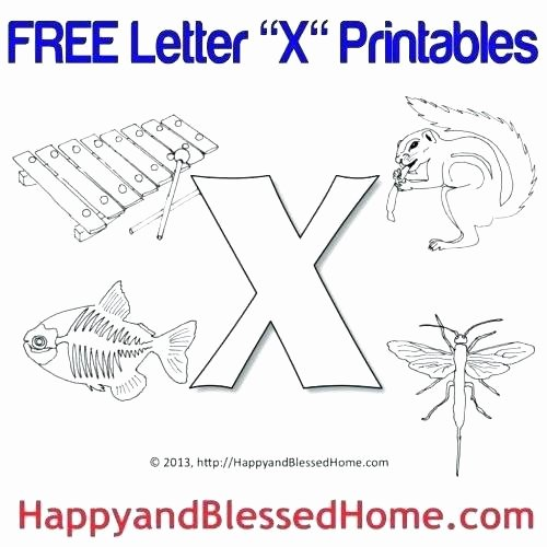 Letter G Worksheets for Kindergarten Letter X Worksheets for Preschool