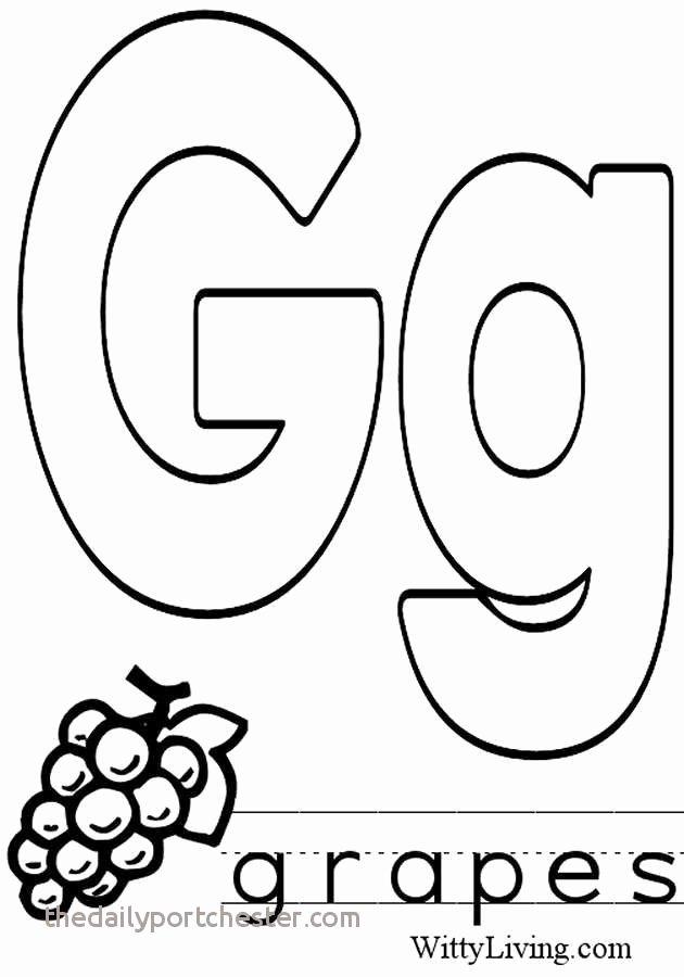 Letter G Worksheets Preschool 13 Best Letter G Coloring Page