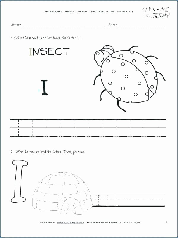 Letter G Worksheets Preschool Free Name Tracing Worksheets