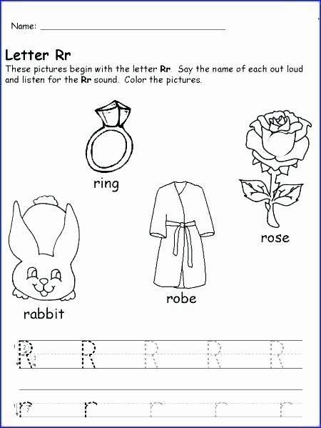 Letter G Worksheets Preschool Letter O Worksheets