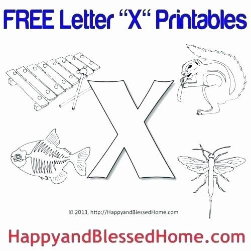 Letter G Worksheets Preschool Letter X Worksheets for Preschool