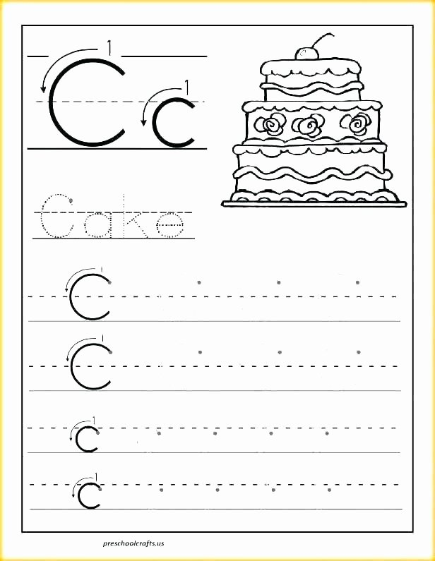 Letter H Traceable Worksheets Letter H Worksheets for Preschool