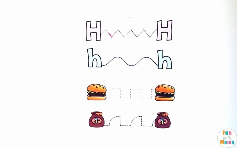 Letter H Tracing Pages H Worksheets – Petpage