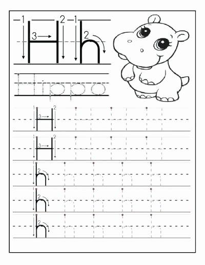 Letter H Tracing Pages Letter H Tracing Printable Worksheet K Alphabet Worksheets
